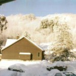 Northern Lake George Resort in Winter